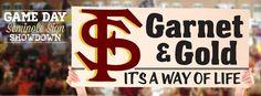 Garnet & Gold, it's a way of life!