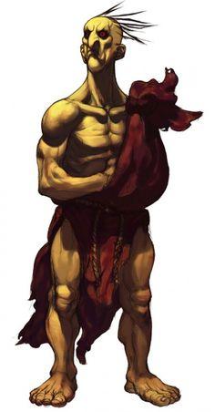 Street Fighter III: 3rd Strike Concept Art