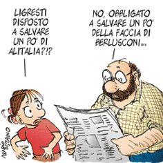 Sergio Staino - l'Unità 24 aprile 2008