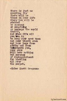 Tyler Knott Gregson-typewriter series