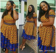 Hey Guys, We want you to take seat and watch these Ankara styles that are too dapper for you to ignore. We can tell you that these Ankara styles are creative, classy and exciting to have. African Fashion Designers, African Print Fashion, Africa Fashion, African Print Dresses, African Fashion Dresses, African Dress, Ankara Fashion, African Attire, African Wear