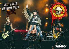 'Not In This Lifetime' Tour Guns N' Roses.