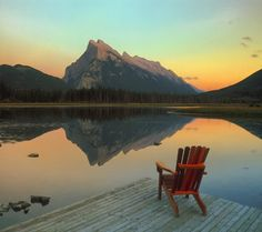 What is The Best Time to Visit Banff National Park Canada Banff National Park Canada, National Parks Map, Parks Canada, Park Pictures, Outdoor Chairs, Outdoor Decor, Park Hotel, Beautiful Places In The World, Great Lakes