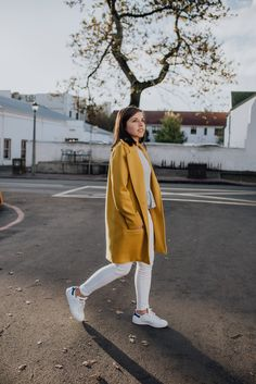 Mustard winter coat from . Winter Coat, Mustard, Normcore, Clothing, Style, Fashion, Outfits, Swag, Moda