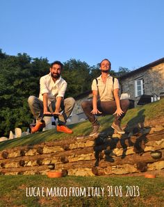 luca&Marco_31_08_2013 jump for Forestaria