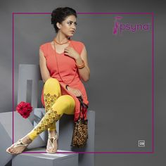 Shop Online for exclusive and enchanting collection of Yellow Printed Legging, available in Yellow made with Cotton Fabric. Global Shipping and Custom Stitching & tailoring services available @ IshiMaya Cotton Leggings, Printed Leggings, Churidar, Salwar Kameez, Yellow Print, Indian Ethnic, Ethnic Fashion, Your Style, Cotton Fabric