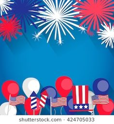 Fireworks Background, Independence Day Background, Invitation Background, Sale Promotion, American Flag, Flags, Party Invitations, 4th Of July, Backdrops