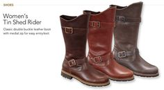 Tin Shed Rider Boots