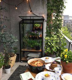 Balcony, Patio, Urban, City, Outdoor Decor, Instagram Posts, Home Decor, Decoration Home, Room Decor