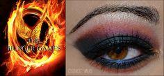 Hunger games inspired makeup