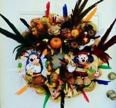 Happy Fall Love Mickey and Minnie