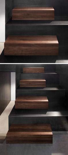 escalier-intérieur-original-bois-massif-foncé-acier-2-tailles-marches