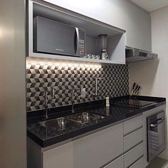 For color combination Brick Wall Kitchen, Funky Kitchen, Kitchen Dining, Kitchen Decor, Kitchen Cabinets, Kitchen Appliances, Kitchen Furniture, Home Furniture, Cabinet Design