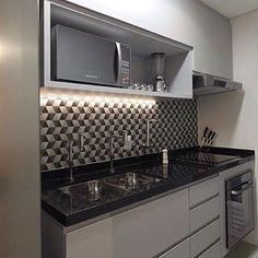 For color combination Kitchen Interior, Kitchen Design Small, Kitchen Cabinets, Kitchen Decor, Kitchen Remodel Small, Kitchen Furniture Design, Home Kitchens, Kitchen Layout, Funky Kitchen