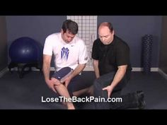 Sciatica Pain Relief-Self accupressure. This guy is amazing! I was in agony until I saw this.