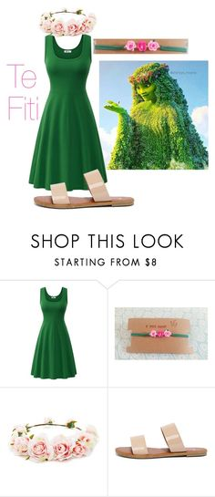"""""""Te Fiti ft VtheShop Choker"""" by princessestrada ❤ liked on Polyvore featuring Forever 21 and Bonnibel"""
