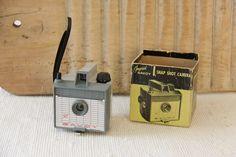 Rare Vintage Grey Imperial Savoy Camera with Original by butanika