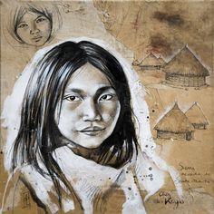 Luis au Village Kogi (Colombie) by Stephanie Ledoux
