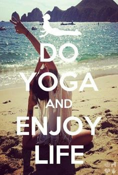 <3 Yoga lets you really focus on the present and love every minute of it :)