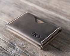 Made from durable distressed leather and our signature hand-stitching, this wallet will be a big hit and the talk of the town. This wallet makes for a