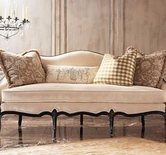 Chloe Sofa from the Henredon Upholstery collection by Henredon Furniture