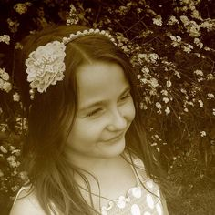 Vintage Lace And Pearl Tiara Band from notonthehighstreet.com