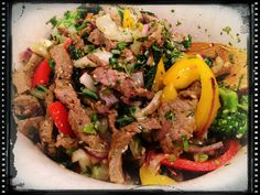 Asian beef (from The 10 Day Detox by Dr. Mark Hyman).