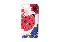 Kate Spade New York Resin iPhone 5 Spring Blooms with Ladybug Jewel Multi - Zappos Couture