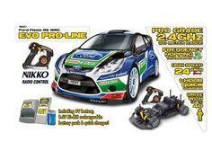 Nikko RC Evo Ford Fiesta 1:14