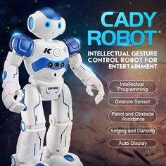 Developmental Baby Toys Jjrc Dancing Remote Control Rc Robot Usb Charging Toy Kids Child Xmas Gift Co & Garden Robots For Kids, Toys For Boys, Kids Toys, Baby Toys, Robot Humanoïde, Smart Robot, Working Robots, Intelligent Robot, Humanoid Robot