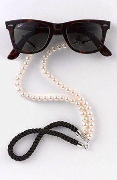 61e37931942f2 Pearl croakies Cute Fashion, Fashion Moda, Fashion Trends, Fashion Outfits,  Womens Fashion