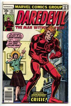 Daredevil 151 Marvel 1978 VF Dave Cockrum Gil Kane ID Revealed