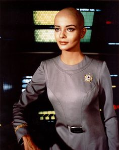 "Persis Khambatta en ""Star Trek, la película"" (Star Trek: The Motion Picture)…"