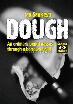 Dough - Magic Trick - Jay Sankey  Very Easy Stand-up/Close-up Repertoire Magic