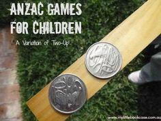 ANZAC games for children It is the anniversary of our soldiers (along with those from New Zealand) landing at Gallipoli in 1915.-the first time our country had been represented in major conflict. We commemorate these soldiers and those who have served our wonderful country since.