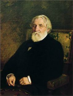 """Ivan Turgenev - The author of """"Father and Sons"""". The last paragraph of this book serves to showcase his awesome talent as a writer. Ilya Repin, Le Horla Maupassant, Ivan Turgenev, Alphonse Daudet, Michel De Montaigne, Beard Art, Russian Literature, Pose, Writers And Poets"""