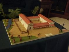 Andrew's 4th grade CA Mission Model-San Francisco de Asis