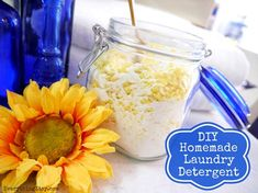 DIY Homemade Laundry Detergent from Curtis Etsy Cleaners Homemade, Diy Cleaners, Household Cleaners, Household Tips, Homemade Cleaning Products, Natural Cleaning Products, Laundry Detergent Recipe, Washing Soda, Laundry Hacks