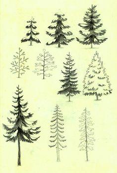 Drawings - Green Ink
