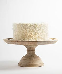 The Red Hook?based bakery, Baked gets it right  with this beast of a Southern-style coconut layer cake: Three layers of  tender white cake and silky smooth buttercream, decked out in a celebratory  confetti of coconut flakes.