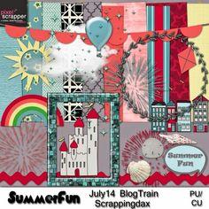 Scrap Designs: July14 Blog Train