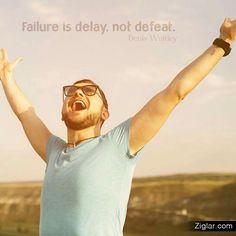 Delay not defeat