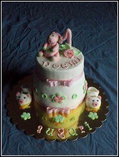 Torta per il primo compleanno di Noemi | MUM CAKE FRELIS