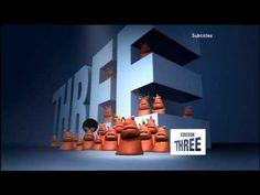BBC Three ident - Three is the magic number