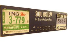 Would love this for Greg and my race medals/bibs