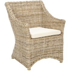 I pinned this Mollie Arm Chair from the Wicker, Cane & Rattan Furniture event at Joss and Main!
