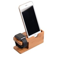 Charger Holder, Phone Holder, Wooden Display Stand, Mobile Stand, Apple Watch Iphone, Docking Station, Surprise Gifts, Samsung Galaxy S6, 6s Plus