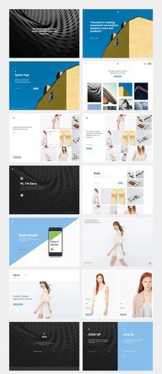 UI8 — Products — Avia UI Kit: Splash