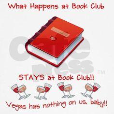 #1 Book Club Rule T-Shirt on CafePress.com