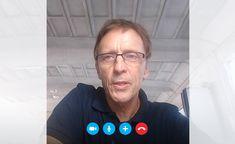 How Skype Meetings crops video image